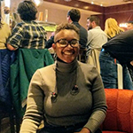 Katiannah Moise, new graduate student